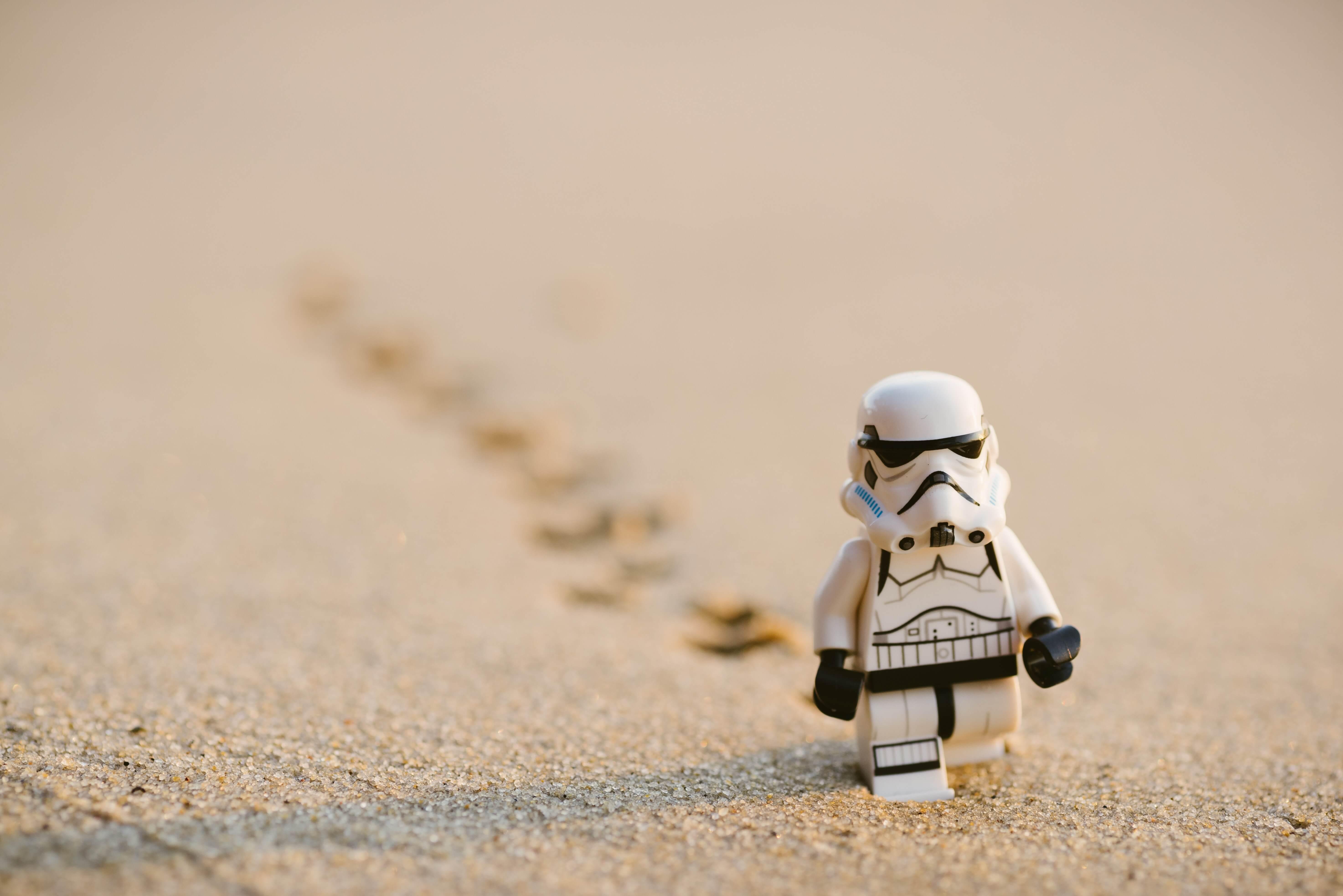 Strom-Trooper in Desert