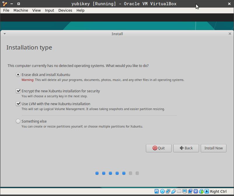 Enable Encryption
