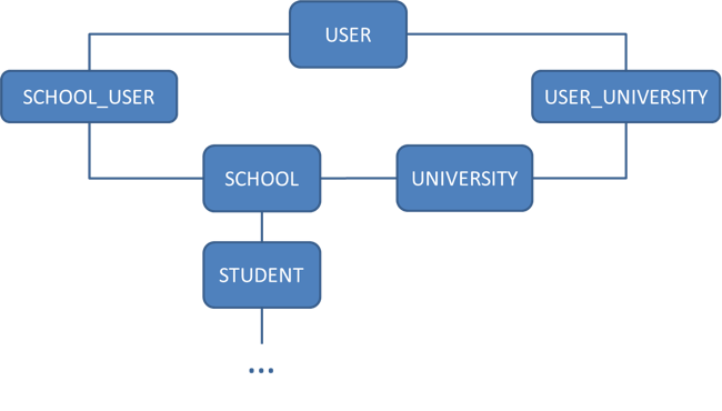 Simplified data model