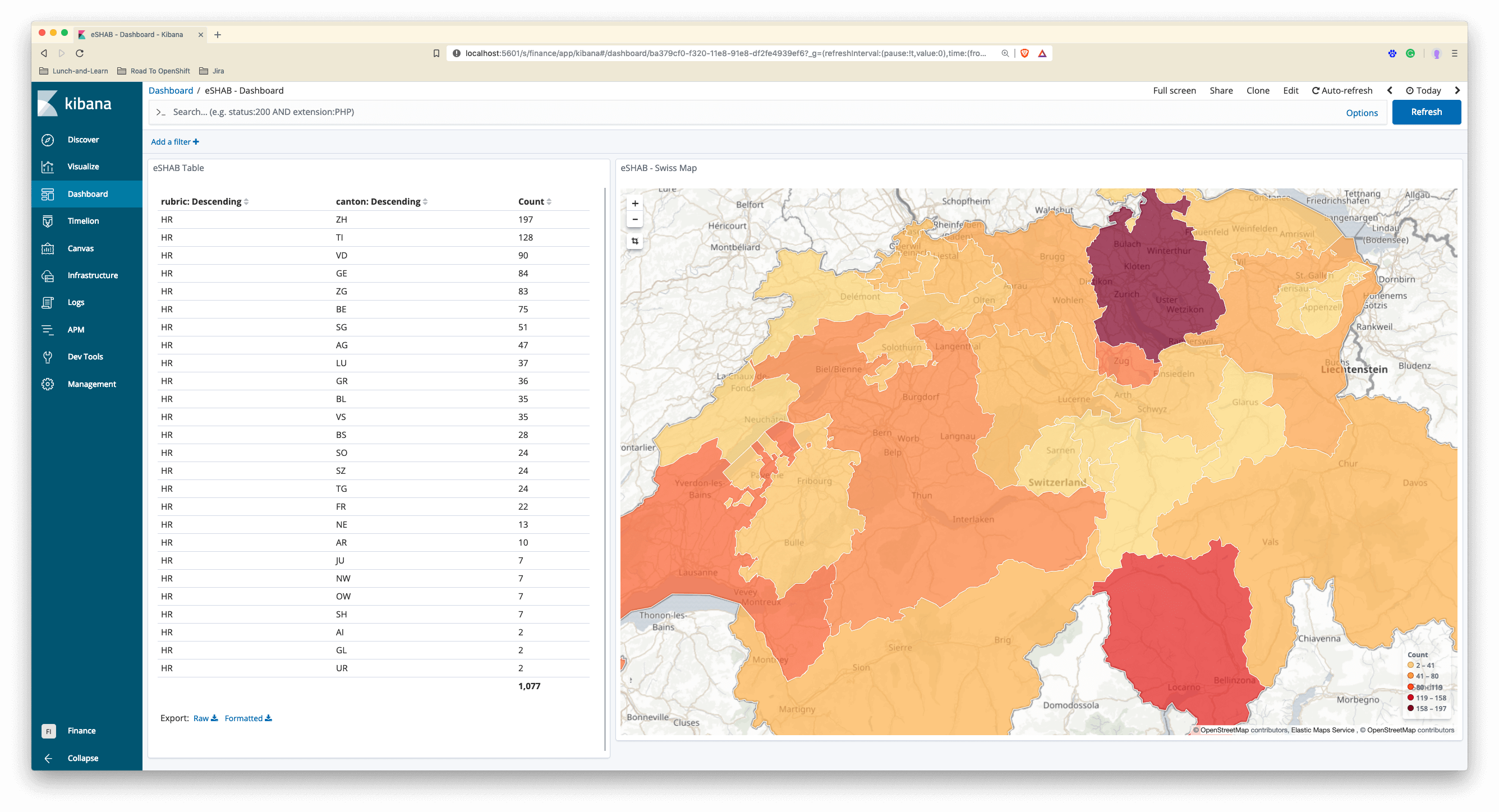 You Complete Me - Custom Region Maps for Kibana | mimacom